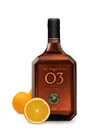 JDK & Sons™ O3® Premium Orange Liqueur