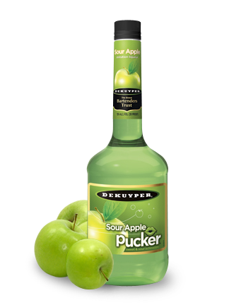 DeKuyper® Pucker® Sour Apple Schnapps Imitation Liqueur