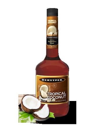 DeKuyper®Tropical Coconut Schnapps Liqueur
