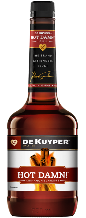 DeKuyper® Hot Damn!® Cinnamon Schnapps Liqueur