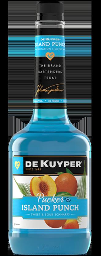 DeKuyper® Pucker® Island Punch Schnapps