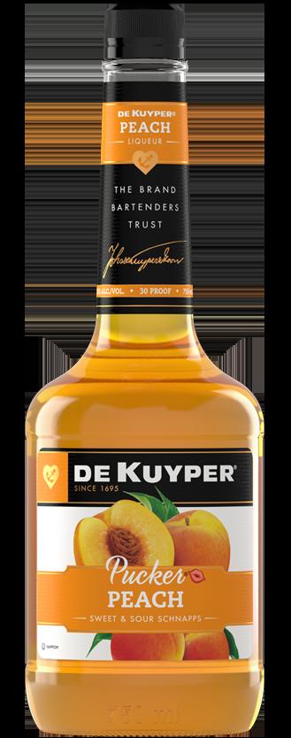 DeKuyper® Pucker® Peach Schnapps Liqueur