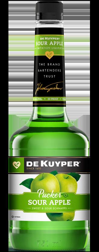 DeKuyper® Pucker® Sour Apple Schnapps Liqueur