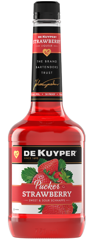 DeKuyper® Pucker® Strawberry Schnapps