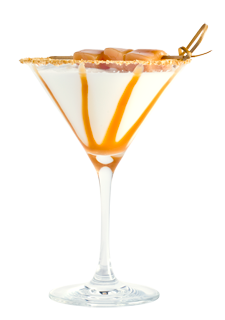 Caramel Cheesecake Martini