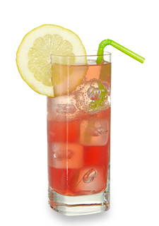 Raspberry Lemonade Highball