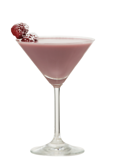 Raspberry Pie Martini