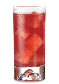 Strawberry Highball & Chain