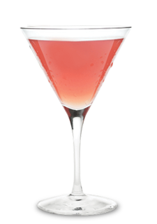 Strawberry Tease Martini